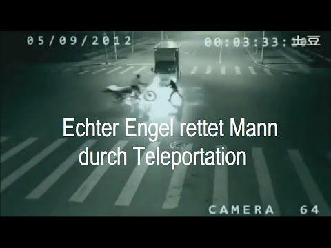 Schutz Engel rettet Mensch auf der Straße! aufgenommen von Verkehrskamera - YouTube