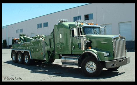 """Quiring Towing - Aldergrove BC. Towing since 1962, and the """"other stars"""" of Discovery's Highway Thru Hell"""
