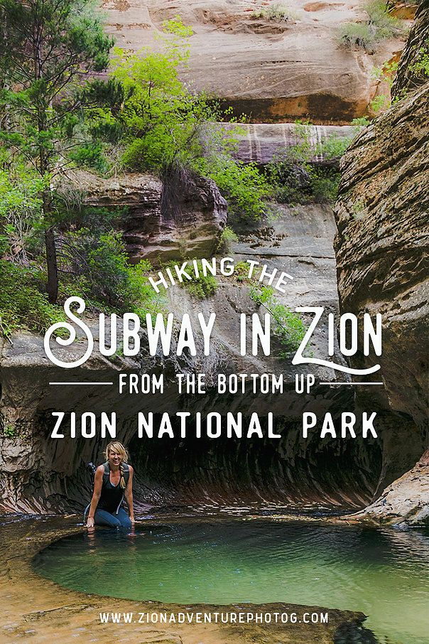 Hiking the Subway From the Bottom Up – Zion Nation…