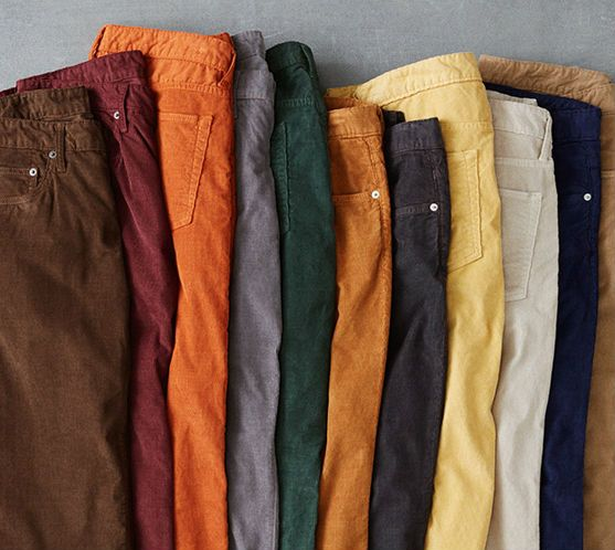 Men's #corduroy pants from Bonobos. Perfect for fall