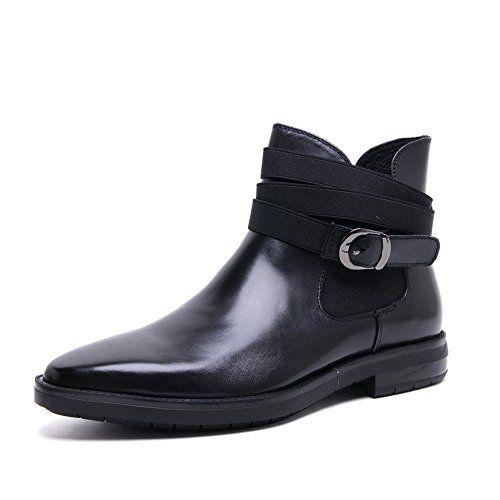 Zorgen Men's Chelsea Wedding Formal Boots Genuine Leather…