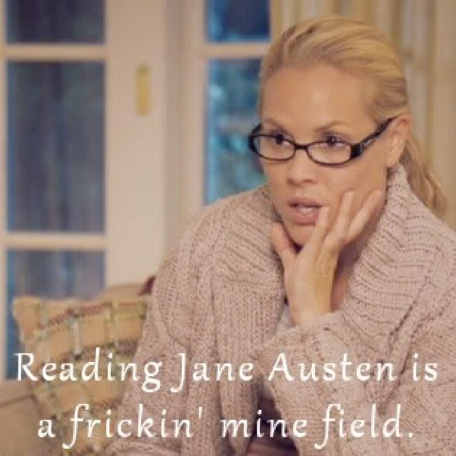 The Jane Austen Book Club. Love this movie. The book was good, too, but I actually enjoyed the movie more.