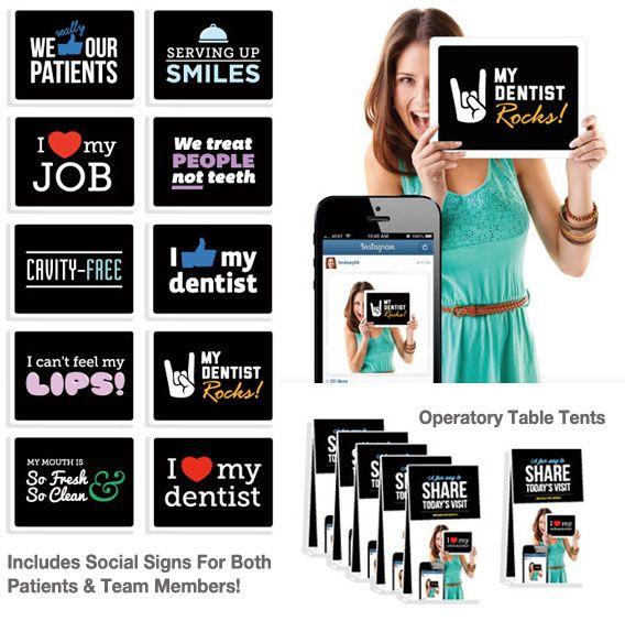 Social Signs Provide Fun Social Media For Dentists!