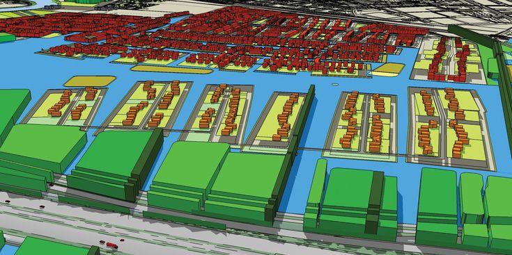 Ontwerpstudie met als doel de afstemming tussen de tracéstudie voor de verbreding van de A1 en het Masterplan voor de woningbouwlocatie Bloemendalerpolder, i.o.v. Atelier Rijksbouwmeester (2008)