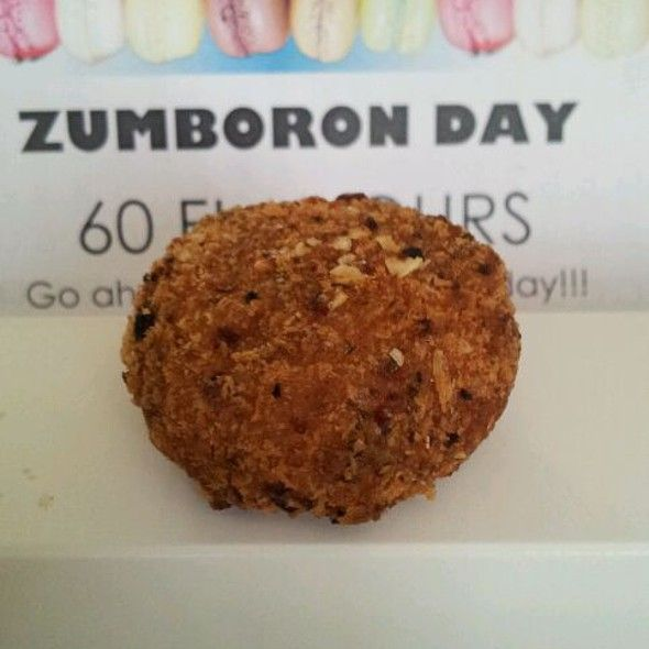 A Fried Chicken Macaron.From Chef Adriano Zumbo Patissier in NSW.