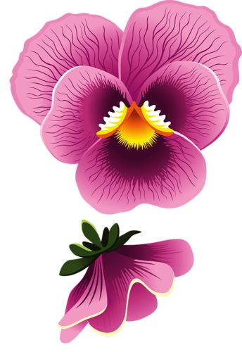 459 Best Images About Vintage Printable Violets And Pansies On Pinterest Decoupage
