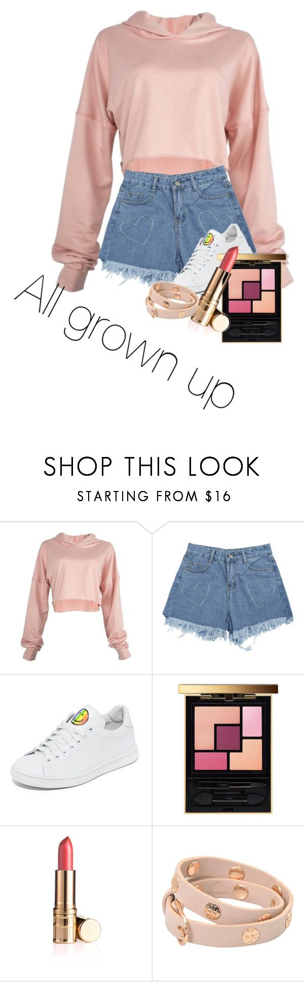 """""""15 Year Old Me 😁"""" by mack12101 on Polyvore featuring beauty, Joshua's, Yves Saint Laurent and Tory Burch"""