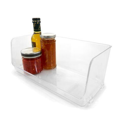 Stackable Pantry Tray - Large, Clear | Kmart