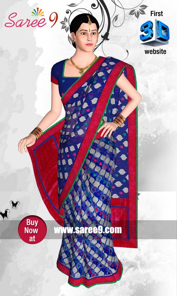 The focus is to create the virtual feel of https://www.saree9.com/ Saree by emerging 3D technology. We proudly announce that this is the first and fore most website developed in 3D technology for Sarees.