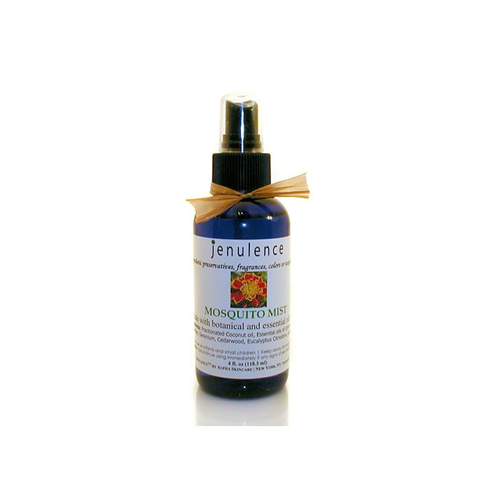 Jenulence all-natural mosquito repellent. DEET-free.