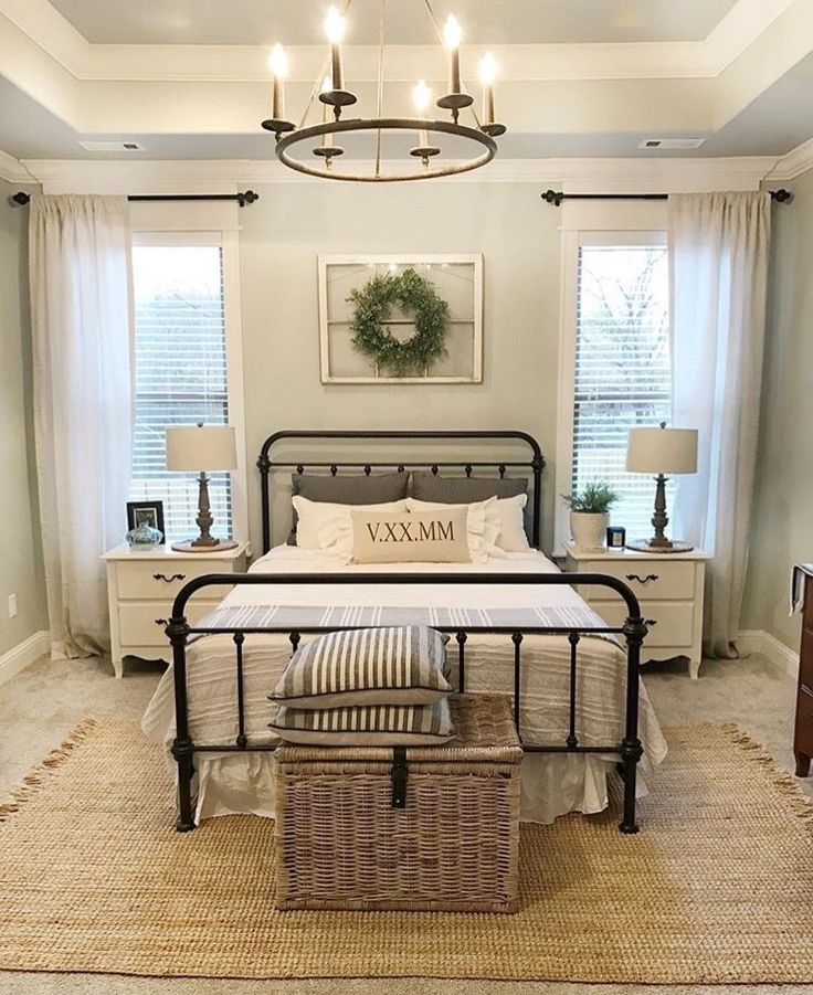 Guest bedroom idea *Rug on carpet