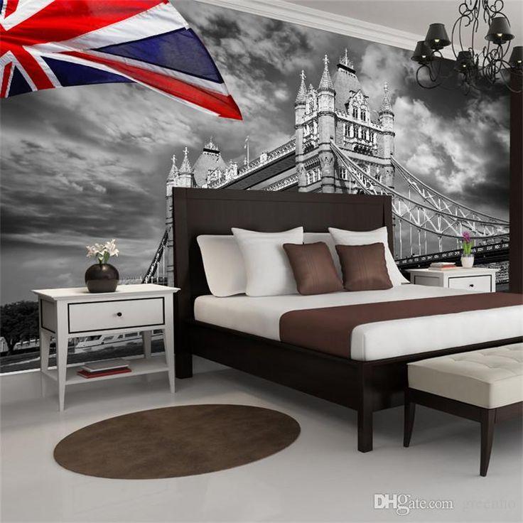 25 beste idee n over uk flag wallpaper op pinterest for Room decor union city