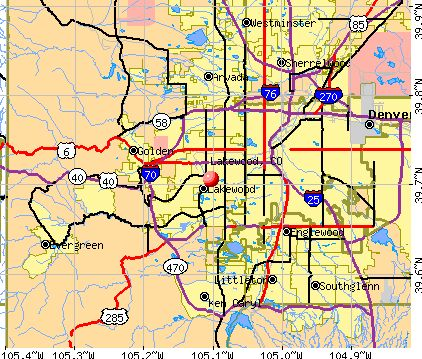 Lakewood CO map Where I m from & live Pinterest