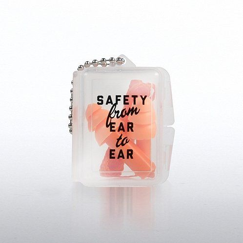 Serious About Safety Reusable Ear Plugs with Case. Replace my nextcare ones that look just like this