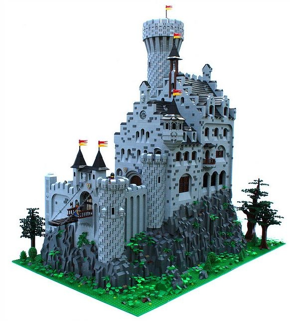 Detailed Lego Castle
