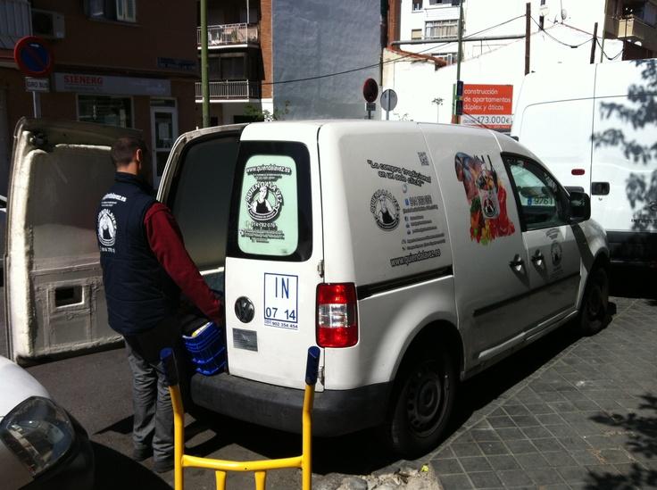 Entrega Kilos Solidarios a Banco de Alimentos de Madrid