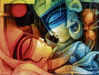 Nityam Singha Roy's show at Arts Gallery