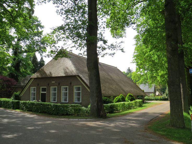 2017-05-21 Oude boerderij in Vilsteren, waar het Landgoedcentrum van Vilsteren is gehuisvest
