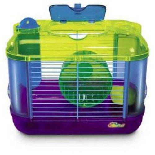 Super Pet CritterTrail Mini One $21.55 | Hamster cage, Hamster house, Hamster housing, Hamster module