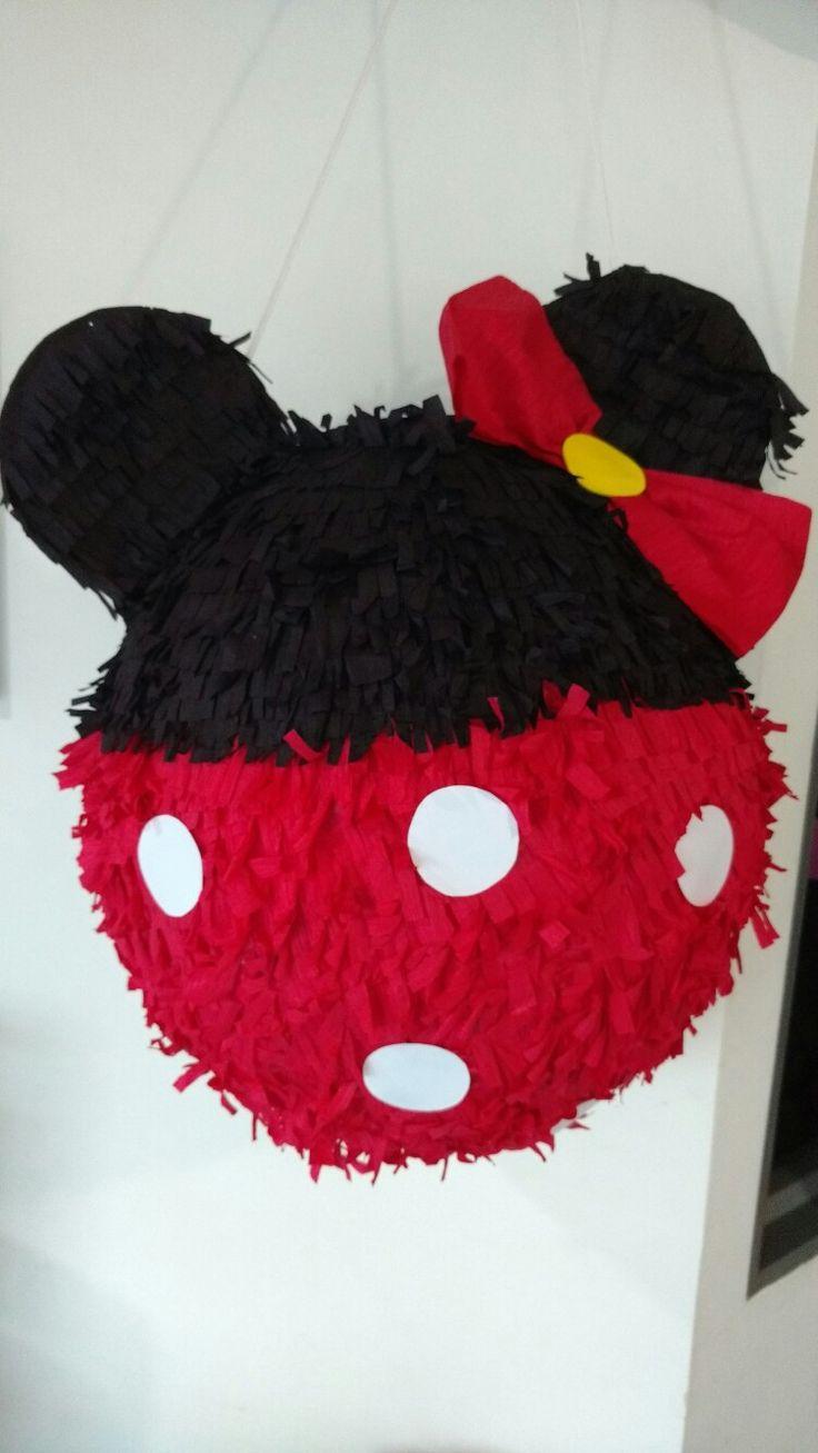 Piñata doble faz Minnie Mouse