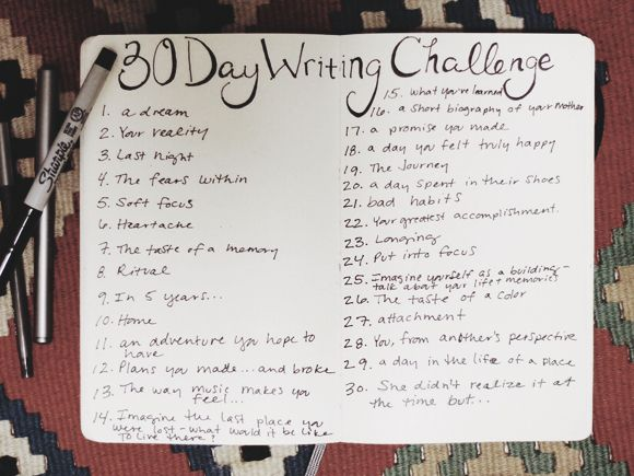 Celebrate National Novel Writing Month With A 30-Day Writing Challenge | Free People Blog #freepeople