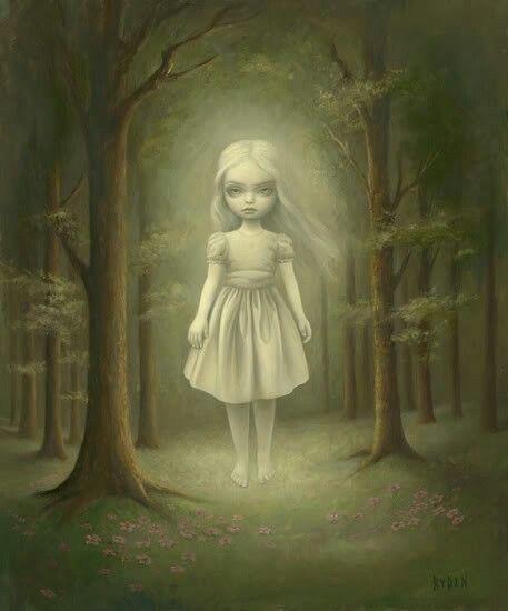 Ghost Girl by Mark Ryden
