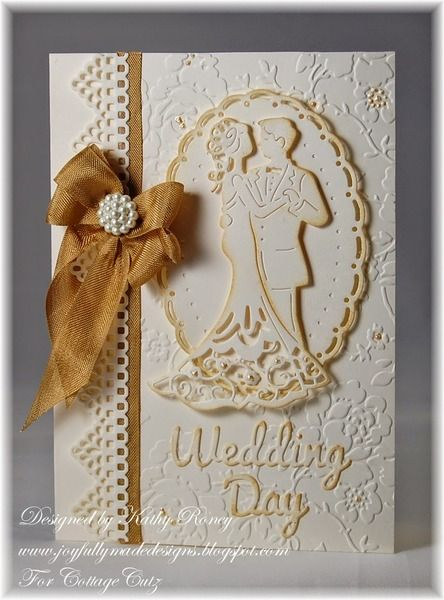 Wedding Day - CottageCutz by rosekathleenr - Cards and Paper Crafts at Splitcoaststampers