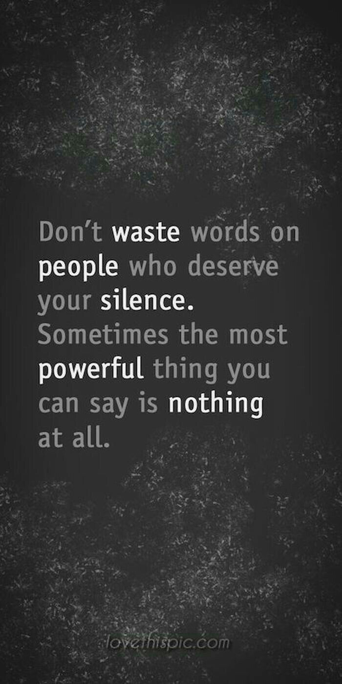 Yes I agree!!! I will never waste another word on a