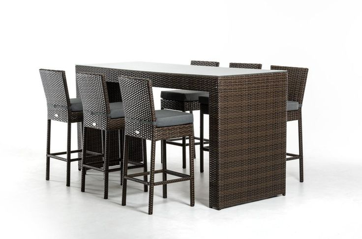 Stylish Design Furniture   Renava Genua Modern Outdoor Bar Table Set,  $1,120.00 (http: