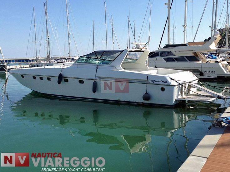 #alfamarine55 #nauticaviareggio - http://www.nauticaviareggio.com/barcheusate/alfamarine/alfamarine-55-502.htm