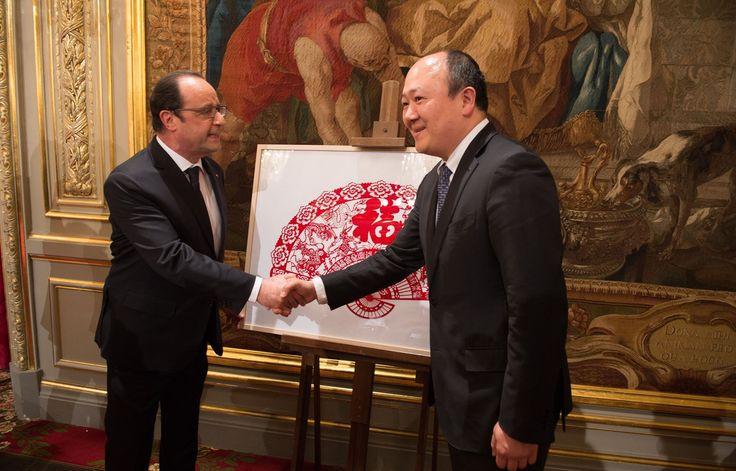 Buon Tan avec François Hollande en 2015 – SIPA PRESS