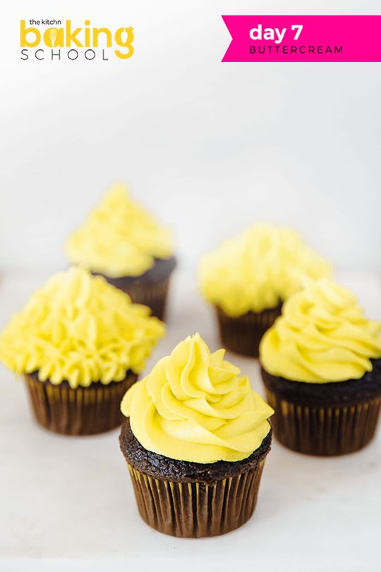 The Kitchn Baking School Day 7: Buttercream- there are six major types of buttercream