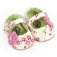 Myang Pink & Lime Floral Mary Jane