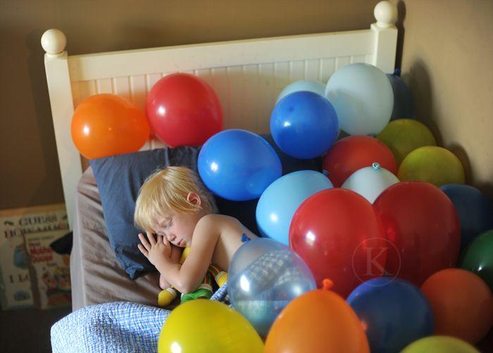 Una forma sencilla y barata de sorprender a tus hij@s la mañana de su cumpleaños