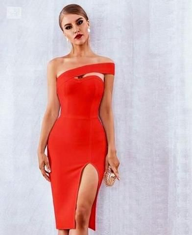 bf386feed7ea Image of Diana-The Beautiful Evening Gown dress BQ Emporium Red L