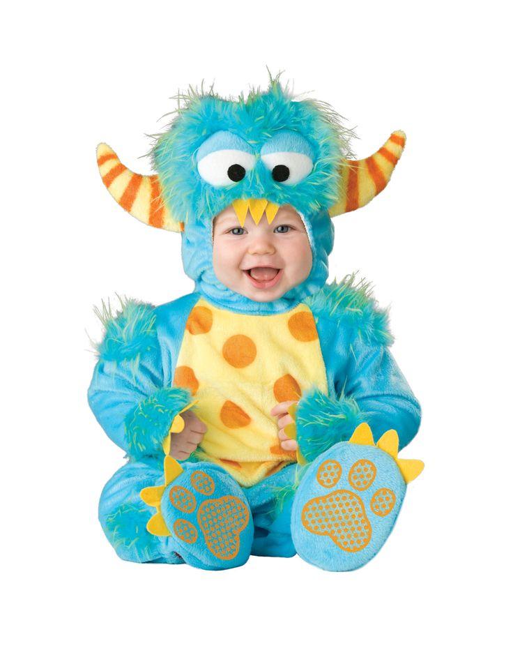 Eligible Costume - Lil Monster Baby Costume $49.99: First Halloween, Monsters Costumes, Toddlers Costumes, Baby Costumes, Baby Halloween Costumes, Infants, Little Monsters, Halloweencostum, Kid