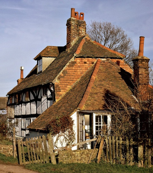 English Cottage Village: 964 Best Images About Ancient And Abandoned Works Of Art