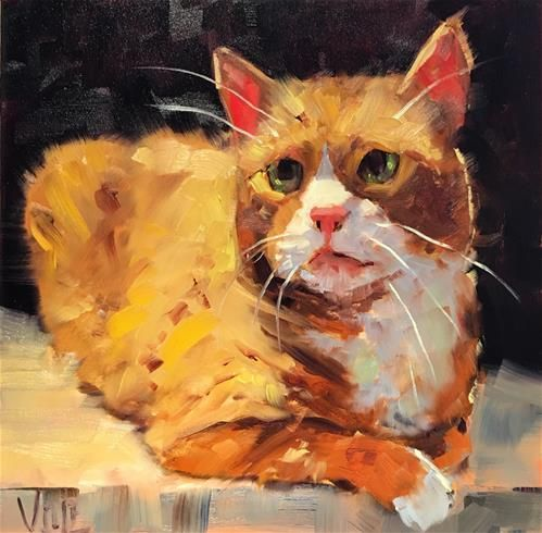 Original Fine Art By © Patty Voje in the DailyPaintworks.com Fine Art Gallery