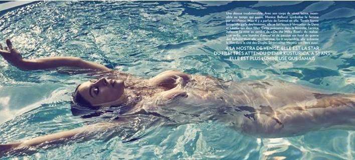 Γυμνή για το Paris Match η Μόνικα Μπελούτσι [εικόνες]