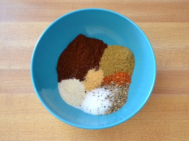 Homemade Chili Seasoning - a combo of spices that can also be used for roasting veggies, etc