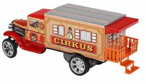 Blechspielzeug - Hawkeye LKW Zirkus-Wohnmobil mit Uhrwerk von KOVAP 0595 | eBay