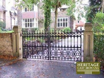 17 best images about gates and entrances on pinterest for Ready made driveway gates