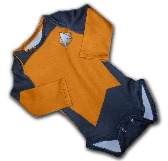 Little Yellow Trekkie 36 Months Size by cichemom on Etsy, $30.00