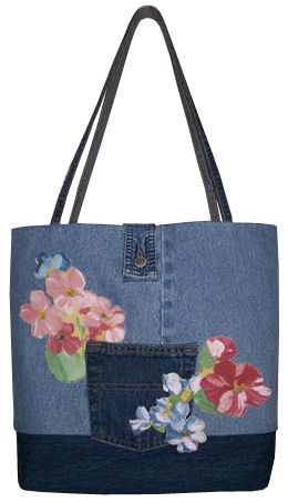 Jean Purse - Pink Flowers 72 DPI PNG.png (260×452)