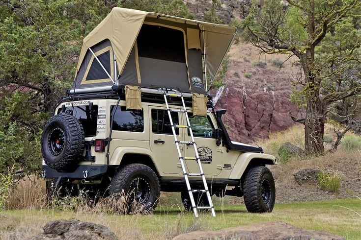 FSR Adventure Series Manual 55 | Jeep tent, Roof top tent ...