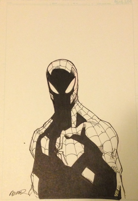 Spiderman by Humberto Ramos Comic Art