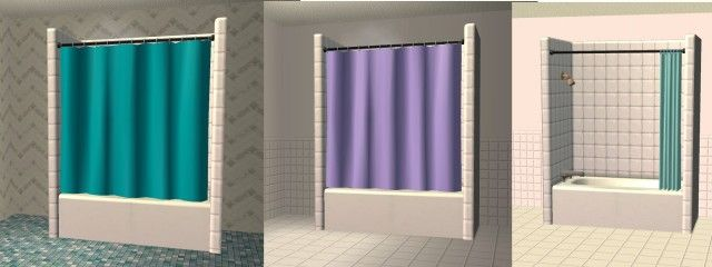 Base Game Shower Recolors