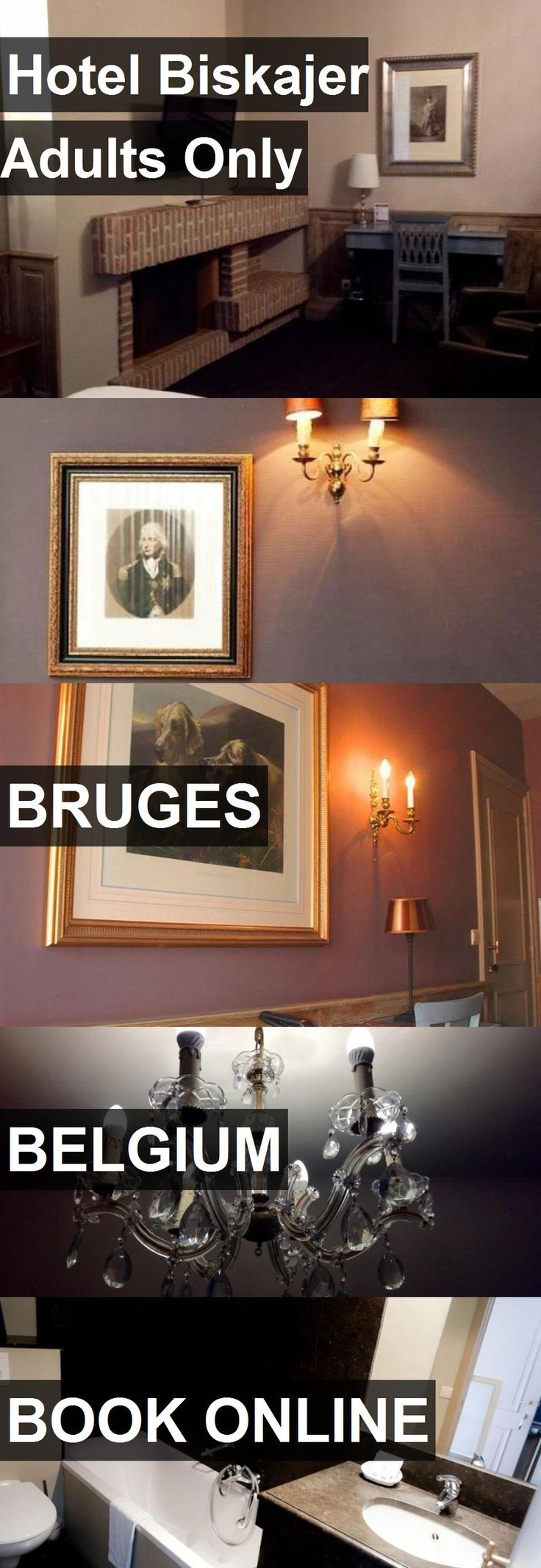 Hotel Biskajer Adults Only in Bruges, Belgium. For more information, photos, reviews and best prices please follow the link. #Belgium #Bruges #travel #vacation #hotel