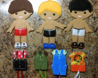 In The Hoop Dress Up BFF Girl Doll Embroidery by NewfoundApplique