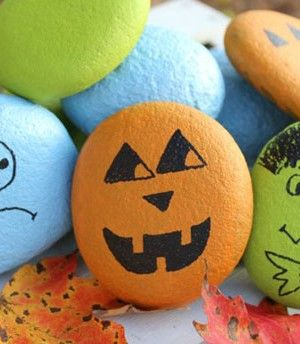 Simple Halloween Craft for Kids